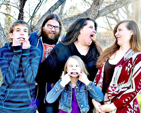 Family Funny Faces Cropped